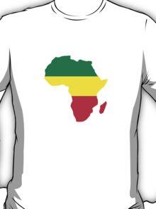 Africa map reggae T-Shirt