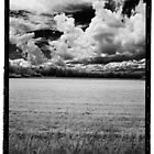 Clouds and Field Looking West on Rt 7, Dexter, ME (vertical) by billwolff