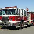 SFFD Engine 16 by Barrie Woodward