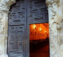 Mission Doorway by Charmiene Maxwell-batten