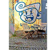 Graffiti, Ljubljana, Slovenia Photographic Print