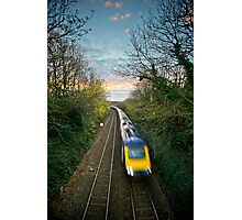 Train Spotted Photographic Print