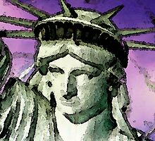 Statue of Liberty - Liberty by Sharon Cummings
