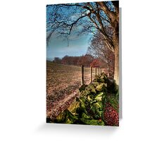 Chevin Dry Stone Wall #2  Greeting Card
