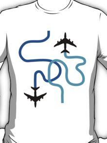 planes blue T-Shirt