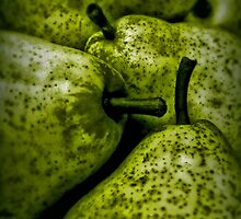Golden Green Pears by Aimee Wilson