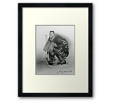 Johnny Bower Framed Print