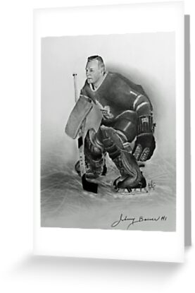 Johnny Bower by Graham Beatty