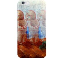 The brothers. Abel offering to Cain for the first and better place. iPhone Case/Skin