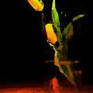 Yellow Tulip by DiNovici