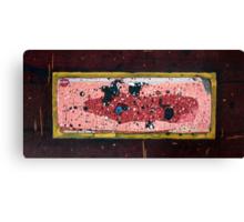 Austral Brick Landscape. Canvas Print