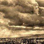 ©HCS Sepia Clouds I by OmarHernandez