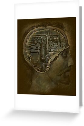 Man's Brain by Jeff Burgess