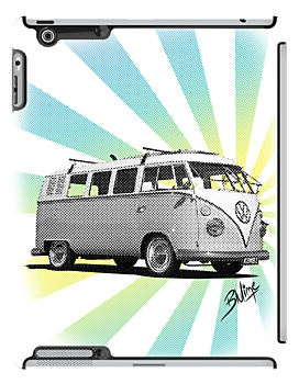 Volkswagen Kombi - News Print #3 by blulime