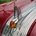 Old Red Pontiac Hood Ornament by Paul Danger Kile