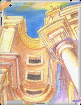 iPad case . deflector . Panteão Nacional by terezadelpilar~ art & architecture
