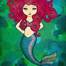Mermaids have bad hair days, too. by micklyn