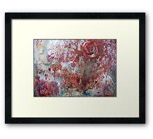 When Roses Bleed... Framed Print