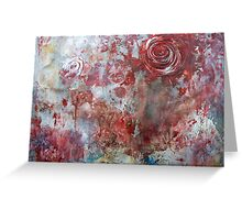 When Roses Bleed... Greeting Card