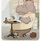Mr. L'Hippopotame by Stieven Van der Poorten