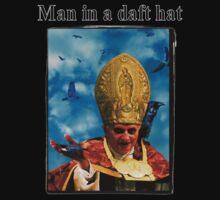 Man in a daft hat by scarlet monahan