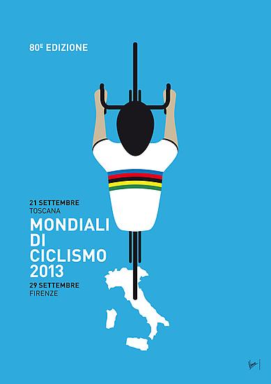 MY Mondiali di Ciclismo MINIMAL POSTER - 2013 by Chungkong
