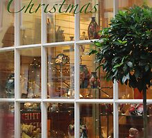Toyshop Christmas greetings by Heather Thorsen