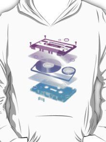 Cassette Explosion - Tape Music T-Shirt
