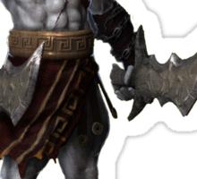 Kratos god of war 3d Sticker