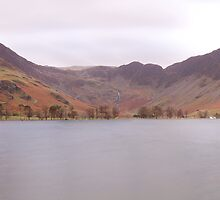 Buttermere Panorama by Nick Atkin