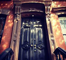 Greenwich Village Brownstone Door by SylviaS