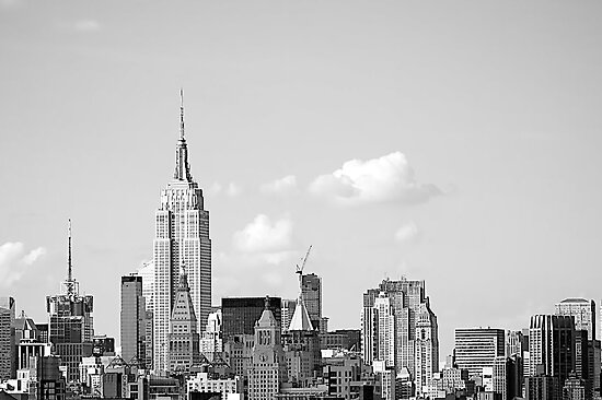 Manhattan NYC by Fern Blacker