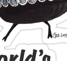 Hamlet - World's Greatest Thespian (Dark text) Sticker