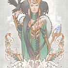 House of Loki: Lady Loki by Medusa Dollmaker