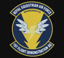 Wonderbolt Squadron Shirt (Large Patch) Kids Clothes