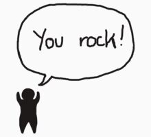 You rock by mansweaters