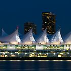 Canada Place in Vancouver by Michael Russell