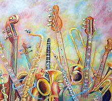 Music Bouquet by Rick Borstelman