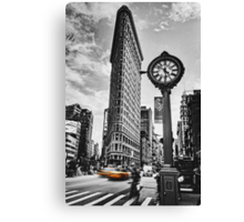 Flatiron Rush Canvas Print