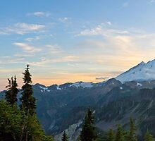 Mount Baker Panorama from Artist Point by Michael Russell