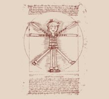 Vitruvian Marshall Lee by Angelica Guzman Herrera