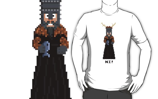 Knight of Ni - Monty Python and the Holy Pixel by Gwendal