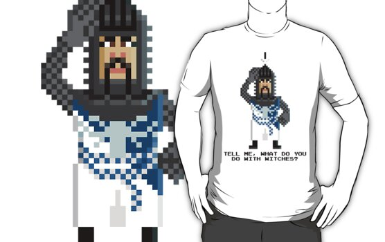 Bedevere - Monty Python and the Holy Pixel by Gwendal