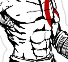 Kratos painting Sticker