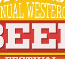 Westeros Beer Festival Sticker