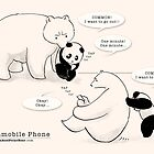 Immobile Phone by Panda And Polar Bear