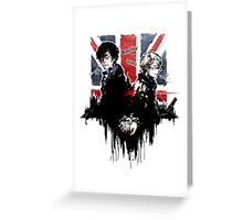 Sherlock: Consulting Detectives Greeting Card