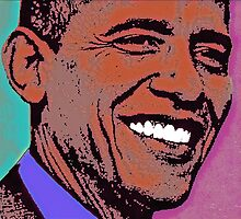 BARACK OBAMA by OTIS PORRITT