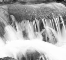 Stickle Ghyll , waterfall. by rennaisance