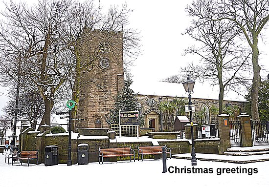 St Chads Church, Poulton-le-Fylde by Lilian Marshall